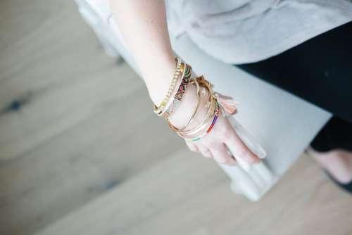 Bohemian Bangle Bracelets Photo