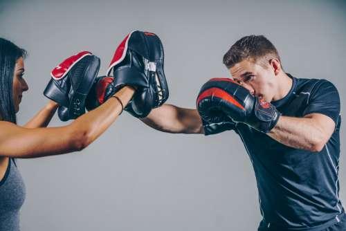 Boxing Gym Workout Photo