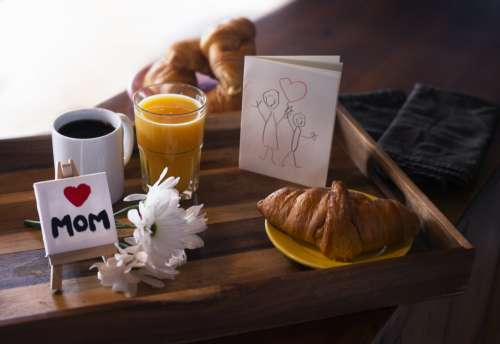 Breakfast For Mothers Day Photo