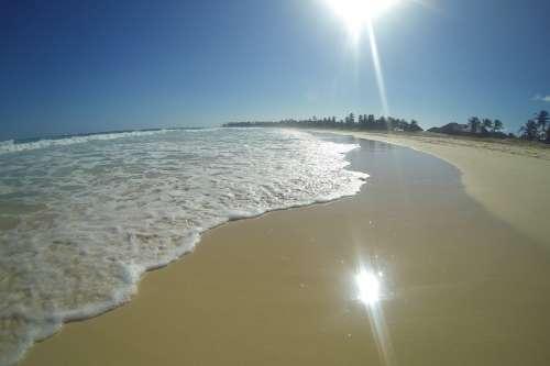 Bright Beach Tide Photo