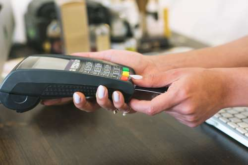 Card Reader Payment Photo
