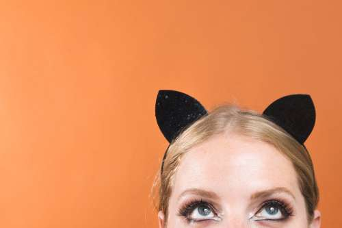 Cats Eye And Costume Photo