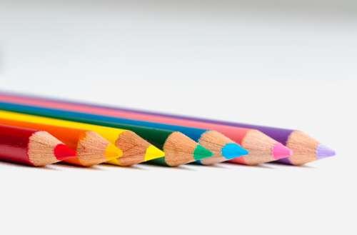 Colorful Pencil Crayons Photo