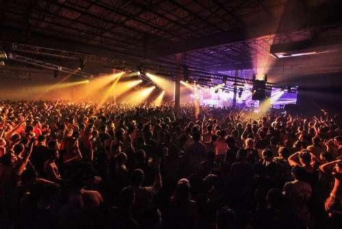 Crowd Loving Music Photo