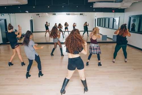 Dance Class In Studio Photo
