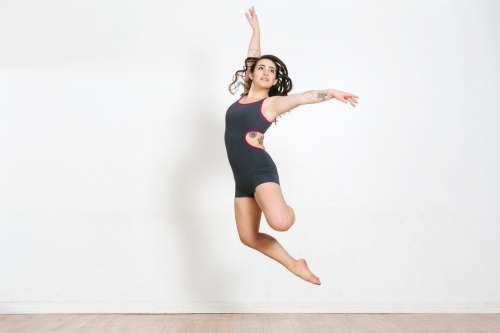Dancer Jumps Photo