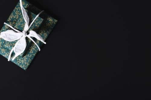 Decorative Gift Wrapped Box Photo