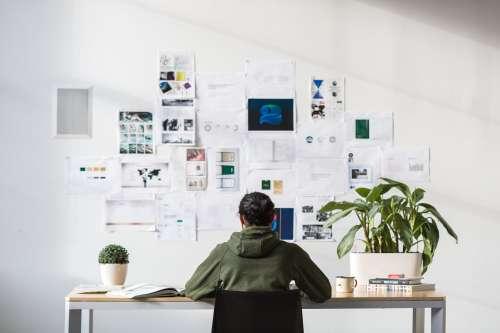 Designer At Desk Photo