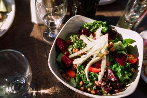 Dinner Salad Photo