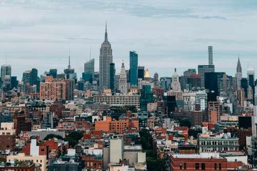 Empire State City Skyline Photo