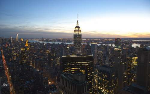 Empire State Skyline Photo