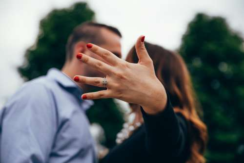 Engagement Photo Photo
