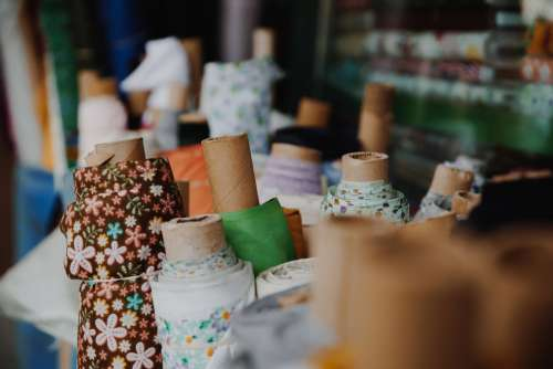 Fabric Rolls For Sale Photo