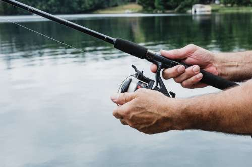 Fishing Rod And Reel Photo