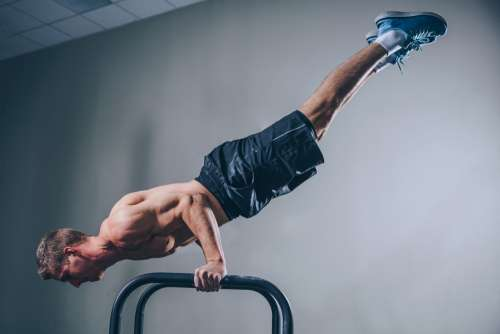 Fitness Balancing Photo