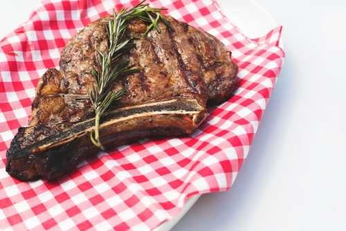 Flame Broiled Steak Photo