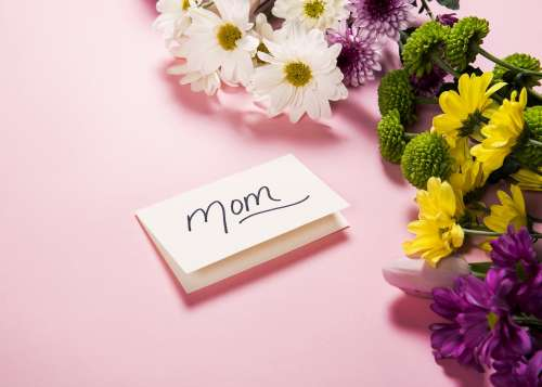 Flowers For Mother Photo