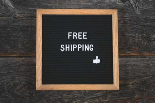 Free Shipping Wooden Sign Photo