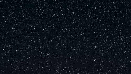 Gentle Snowfall At Night Photo