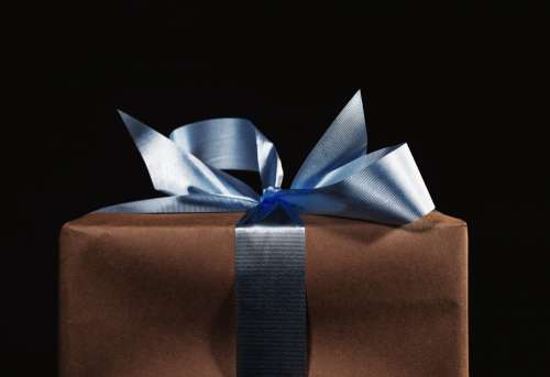 Gift Wrapped With Bow Photo