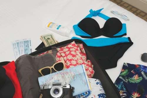 Holiday Hotel Unpacking Photo