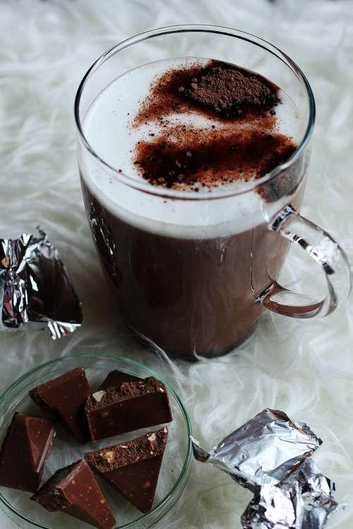 Hot Chocolate Dark Cocoa Photo