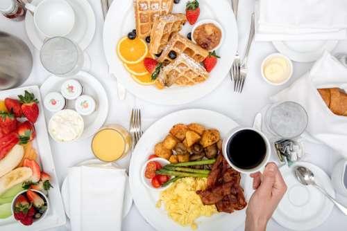 Hotel Breakfast Room Service Photo