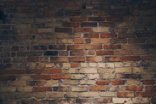 Indoor Brick Wall Texture Photo