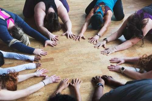 Ladies Stretch Circle Photo