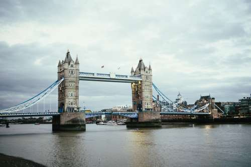 London Bridge Over Thames Photo