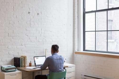 Man Working At Startup Photo