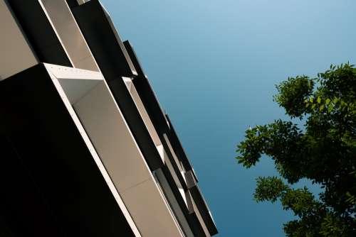 Modern Condo Architecture Cubist Photo
