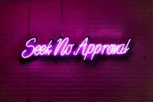 Modern Neon Sign Photo
