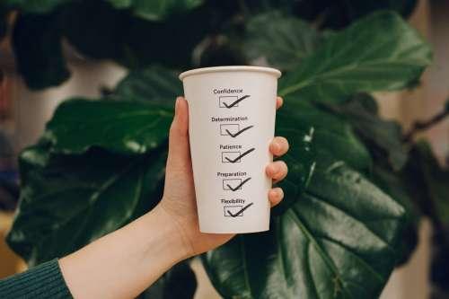 Motivational Checklist Cup Photo
