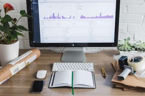 Office Computer Screen Photo