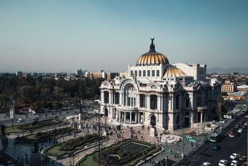 Palacio De Bellas Artes Wide Shot Photo