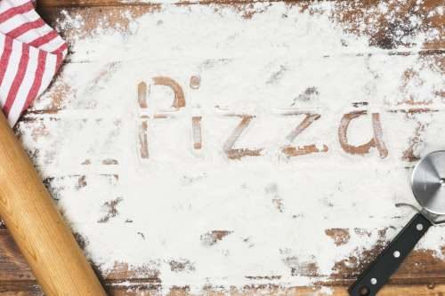 Perfect Pizza Makers Mess Photo