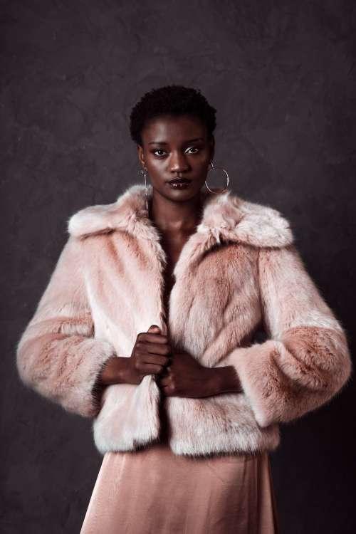Pink Fur Fabulous Fashion Photo