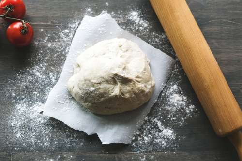 Pizza Dough Ready To Roll Photo