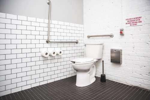 Public Handicap Bathroom Photo