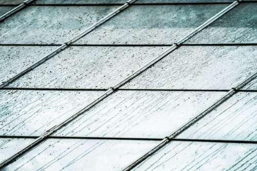 Rainy Glass Roof Photo
