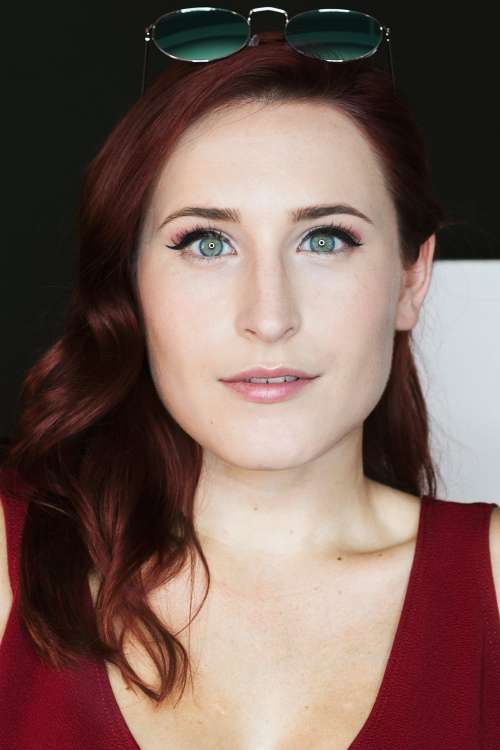 Red Hair Fashion Photo