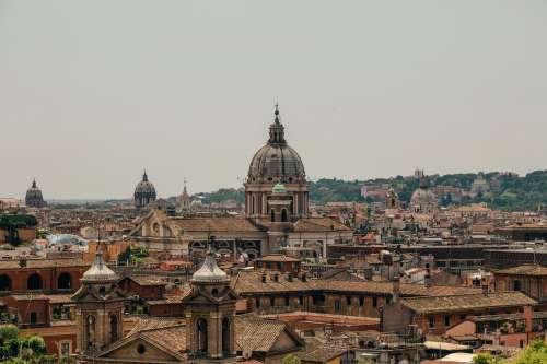 Rome Skyline Photo
