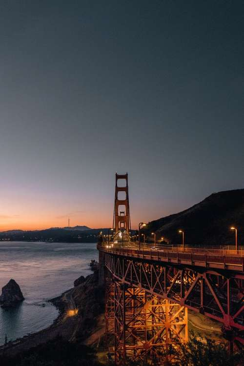 San Francisco Nights Photo