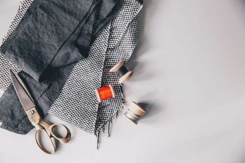 Sewing Flatlay Photo