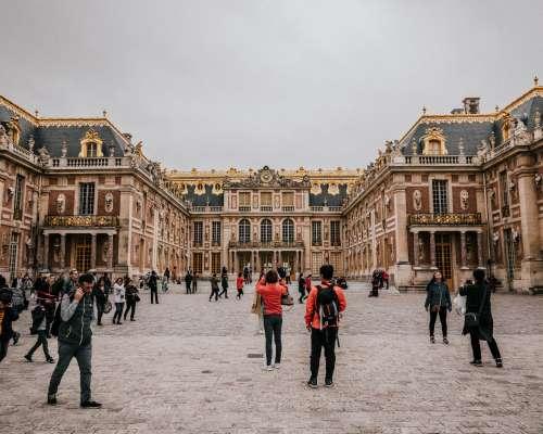 Snapping Selfies At Versailles Photo