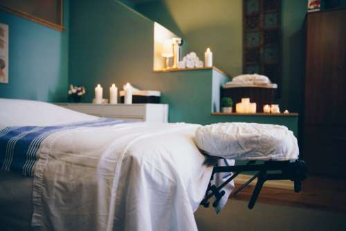 Spa Massage Table Room Photo