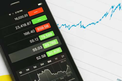 Stock Market Tracking And Stocks Photo
