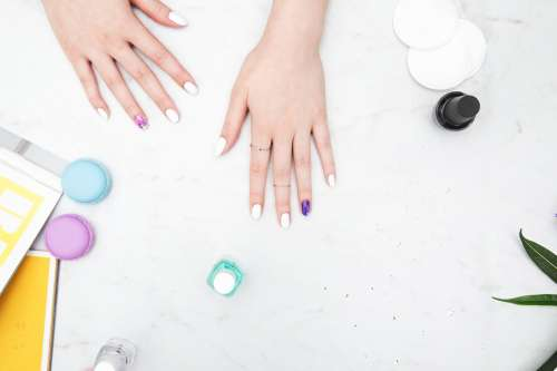 Stylish Nail Polish Photo