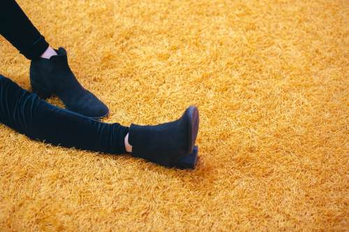 Suede Boots Fashion Photo